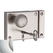 Polished Nickel with Lifetime Finish 5704 Small Horizontal Rim Lock