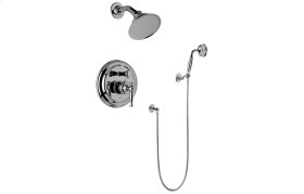 Traditional Pressure Balancing Shower Set (Rough & Trim)