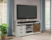 """67"""" TV Console With Sliding Door"""