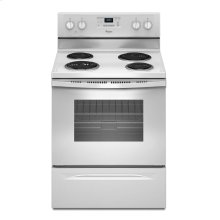 Out of Box 4.8 Cu. Ft. Freestanding Electric Range with AccuBake® System