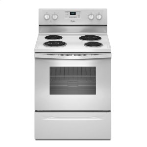 Whirlpool4.8 Cu. Ft. Freestanding Electric Range with AccuBake® System