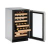 "U-Line 2000 Series 18"" Wine Captain(r) Model With Stainless Frame Finish And Field Reversible Door Swing (115 Volts / 60 Hz)"