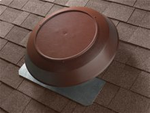 Attic Ventilator, Brown Dome, 1000 CFM.