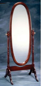 Cherry Cheval Mirror Product Image