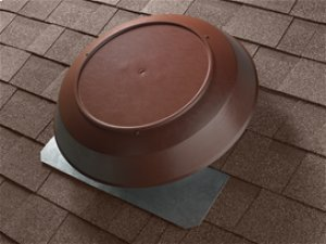 Attic Ventilator, Brown Dome, 1600 CFM.
