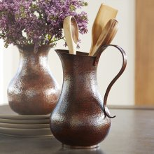 Antique Copper Los Olivos Copper Pitcher
