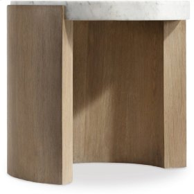 Curata Round End Table
