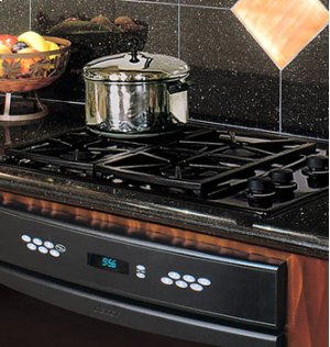 "30"" Gas Cooktop, in Stainless Steel"