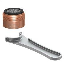 Antique Copper Aerator Kit 1.5gpm Laminar Junior Male
