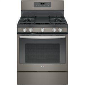 "GE®30"" Free-Standing Gas Convection Range"