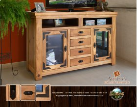 "60"" Wide, Four Drawer TV Stand"