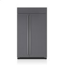 """48"""" Classic Side-by-Side Refrigerator/Freezer with Internal Dispenser - Panel Ready Product Image"""