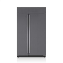 """48"""" Classic Side-by-Side Refrigerator/Freezer with Internal Dispenser - Panel Ready"""