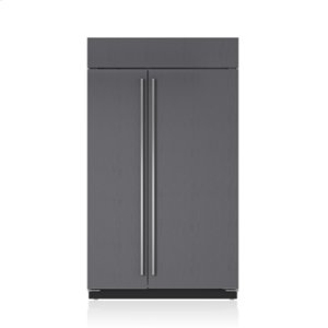 "Subzero48"" Classic Side-by-Side Refrigerator/Freezer with Internal Dispenser - Panel Ready"