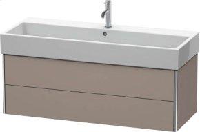 Vanity Unit Wall-mounted, Basalt Matt (decor)