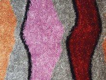 Shaggy rug, Multicolor