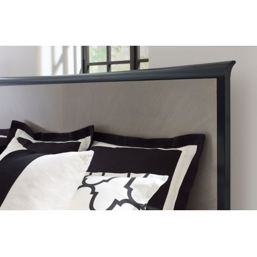 Symphony Panel Bed, King 6/6