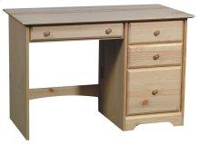 Pine 4 Drawer Desk