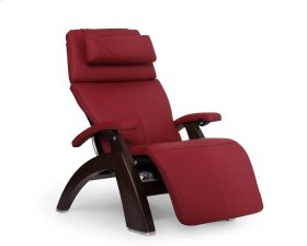 Perfect Chair® PC-600 Omni-Motion Silhouette - Red Top-Grain Leather - Dark Walnut