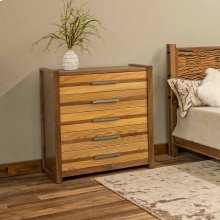 Riley 5 Drawer Chest With Sassafrass