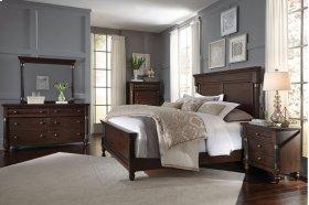 Oxford Queen Bed Dresser Mirror Nightstand
