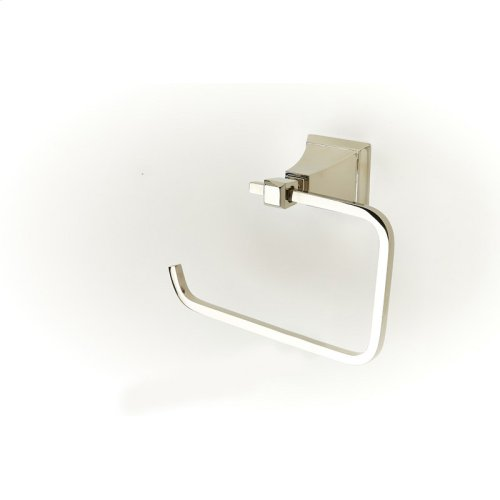 Paper Holder Towel Ring Leyden Series 14 Polished Nickel