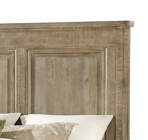 Emerald Home Interlude II Cal King Bed Kit Weathered Pine B561-13-k