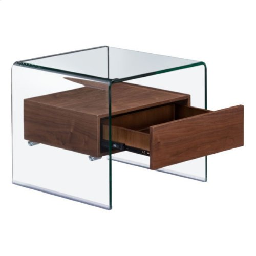 Shaman Side Table Walnut