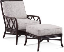 Santiago Chair and Ottoman