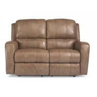 Hammond Leather Power Reclining Loveseat Product Image
