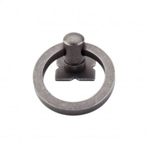 Smooth Ring 1 9/16 Inch w/Backplate - Pewter
