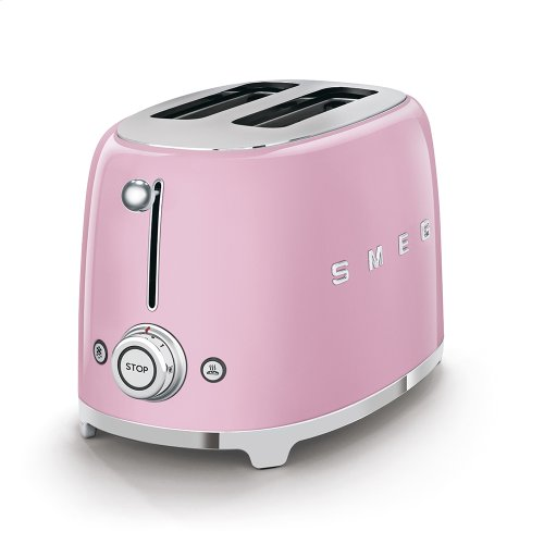 2x2 Slice Toaster, Pink