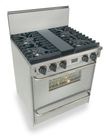 """30"""" All Gas, Convect, Sealed Burners, Stainless Steel"""