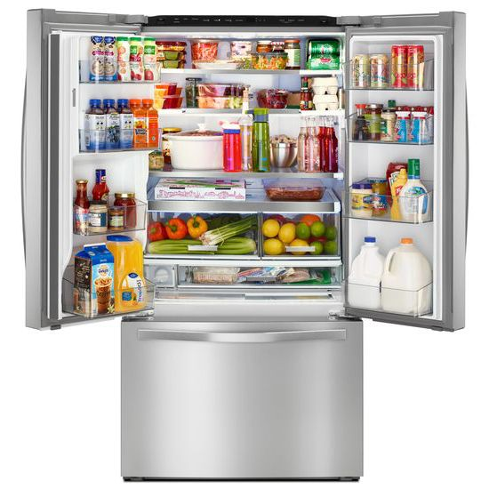Merveilleux Hidden · Additional Whirlpool® 36 Inch Wide French Door Refrigerator With  Infinity Slide Shelf   32