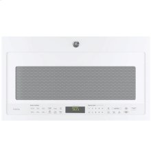 (Discontiued Floor Model 1 Only) GE Profile Series 2.1 Cu. Ft. Over-the-Range Sensor Microwave Oven