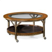 Mercantile Round Cocktail Table Product Image