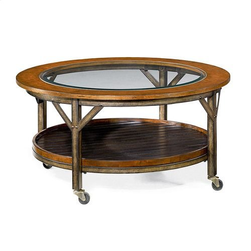 Mercantile Round Cocktail Table
