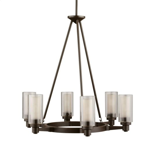 Circolo Collection Circolo 6 Light Chandelier - OZ
