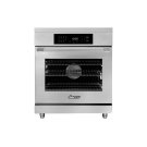 """30"""" Heritage Induction Pro Range, Silver Stainless Steel Product Image"""