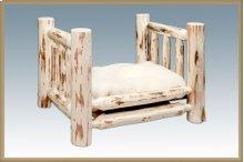 Montana Log Small Pet Bed