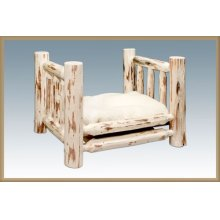 Montana Log Small Pet Bed