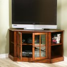 Thomas Corner Media Stand - Walnut Product Image