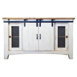 Barndoor TV Stand