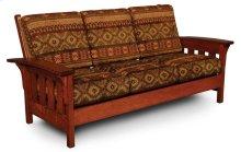 Morris Sofa, Fabric Cushion Seat