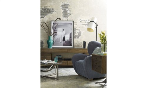 Epicenters Williamsburg Pedestal End Table
