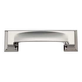Sutton Place Cup Pull 3 Inch (c-c) - Polished Nickel
