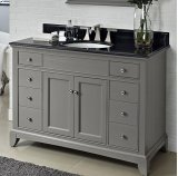 "Smithfield 48"" Vanity - Medium Gray Product Image"