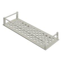 "Bathroom Basket HD Rectangular 12-1/4"" - Brushed Nickel"