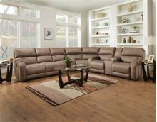 Power Reclining 6 Piece Sectional with SoCozi Massage Upgrade