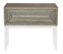 Goodman Nightstand in Rustic Gray